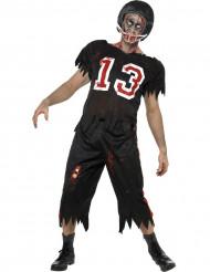 Amerikansk fodboldspillerdragt voksen Halloween