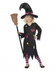 Katte-heks dragt Halloween piger