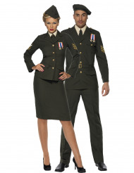Parkostume militær officer