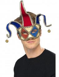 Venetiansk maske joker voksen