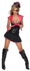 Kostume sexet pirat Playboy™ til kvinder