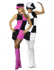 Parkostume disco damer