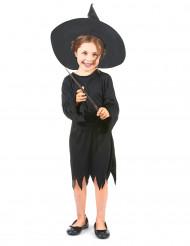 Den lille sorte - Sort heksekostume til piger