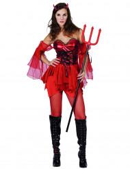 Kostume kvindelig djævel til kvinder Halloween