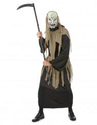 Manden med leen-kostume voksen