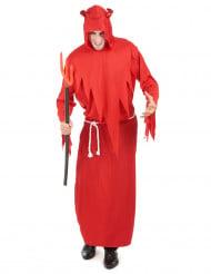 Rødt dæmonkostume til mænd