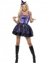 Halloween edderkoppeheks - Heksekostume til kvinder