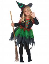 Skovheksekostume Halloween pige