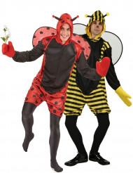 Parkostume bi og mariehøne mænd