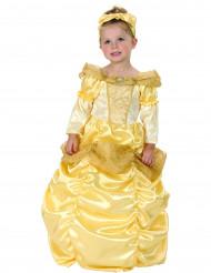 Guld prinsesse - udklædning til børn