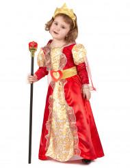 Dronning udklædning til børn