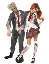 Parkostume zombie-elever Halloween