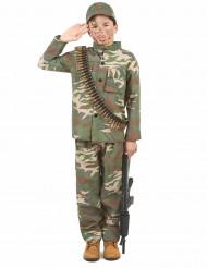 Kostume soldat til drenge