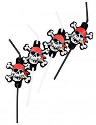 8 Pirat knæksugerør