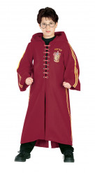 Kostume Quidditch Harry Potter™ Deluxe drenge