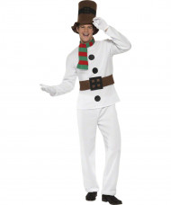 Kostume snemand til voksne