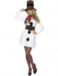 Kostume snemand til kvinder jul