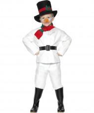 Kostume snemand til børn jul