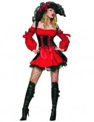 Miss Dirky - Elegant piratkostume til kvidner