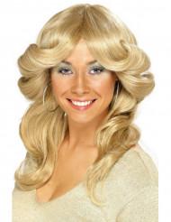 Paryk blond 70erkvinde
