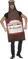 Ølflaske-kostume voksen
