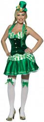 Irsk inspireret kostume dame