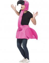 Flamingo udklædning til voksne