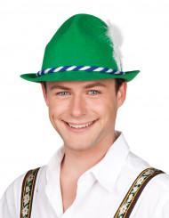 Tyrolerhat grøn
