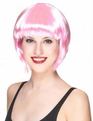 Paryk kort lyserød kvinde