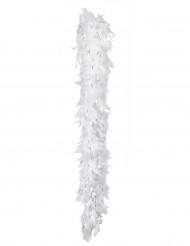 Boa hvid og sølvfarvet 50 g