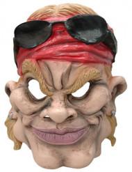 Maske karikatur biker