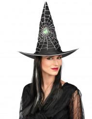 Paryk med sort og hvid hekseparyk kvinde Halloween