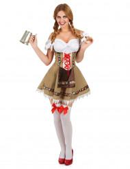 Bayersk inspireret kostume dame