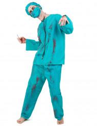 Zombiekirurg - udklædning voksen Halloween