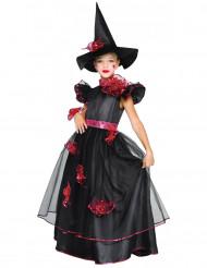 Kostume heks i rød til piger