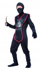 Hemmelig ninja - Ninjakostume til drenge