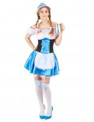 Kostume bayersk inspireret dame