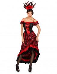 Kabaretdanser Dame Kostume