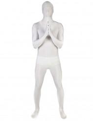Kostume heldragt hvid Morphsuits™ til voksen