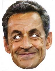 Kartonmaske Nicolas Sarkozy