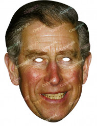 Kartonmaske Prins Charles