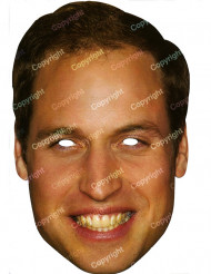 Kartonmaske prins William