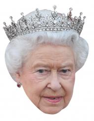 Kartonmaske dronning Elisabeth