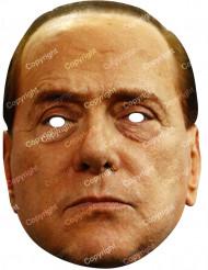 Kartonmaske Silvio Berlusconi