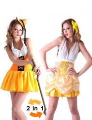 Kostume vendbart alpepige og prinsesse