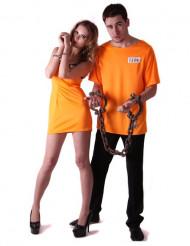 Orange fanger parkostumer