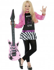 Rockstjerne-outfit pige