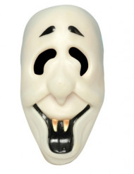 Maske smilende spøgelse til voksne Halloween