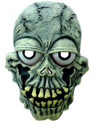 Skelet maske fremstående øjne voksen