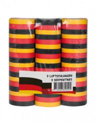 3 ruller serpentin Tysklands farver